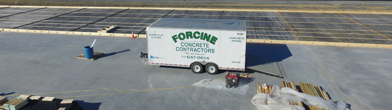 Forcine Concrete Launches New Website